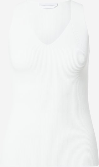 BOSS Casual Knitted top 'Falessi' in White, Item view