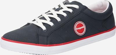 bugatti Sneaker 'Alfa' in dunkelblau / rot / weiß, Produktansicht