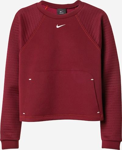NIKE Bluzka sportowa 'Pro Luxe' w kolorze ciemnoczerwonym, Podgląd produktu