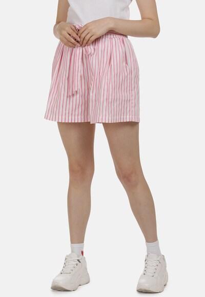MYMO Shorts in pink / weiß, Modelansicht