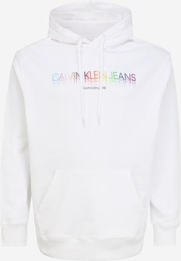 Calvin Klein Jeans Plus Sweatshirt 'PRIDE' in de kleur Gemengde kleuren / Wit, Productweergave