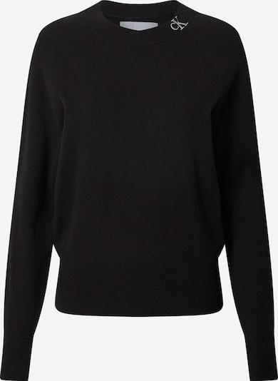 Calvin Klein Jeans Trui in de kleur Zilver / Wit, Productweergave