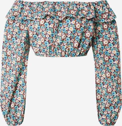 River Island Shirt in blau / türkis / senf / weiß, Produktansicht
