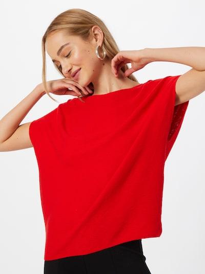 UNITED COLORS OF BENETTON Jersey en rojo, Vista del modelo
