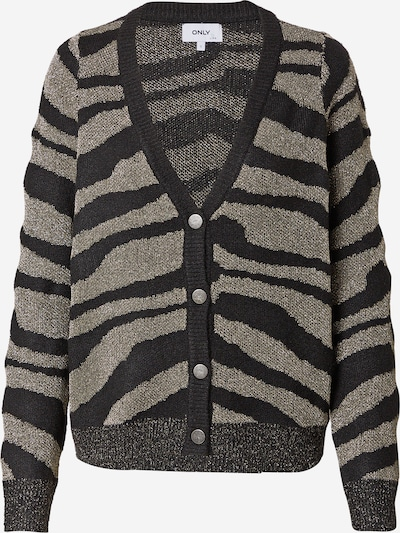 ONLY Knit Cardigan 'Neela' in Silver grey / Black, Item view