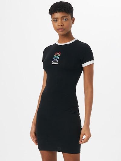 ELLESSE Šaty 'Ninetta' - smaragdová / tmavofialová / červená / čierna / biela, Model/-ka