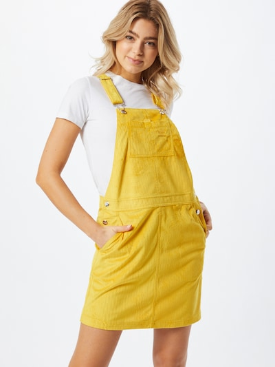 ADIDAS ORIGINALS Latzrock in gelb, Modelansicht