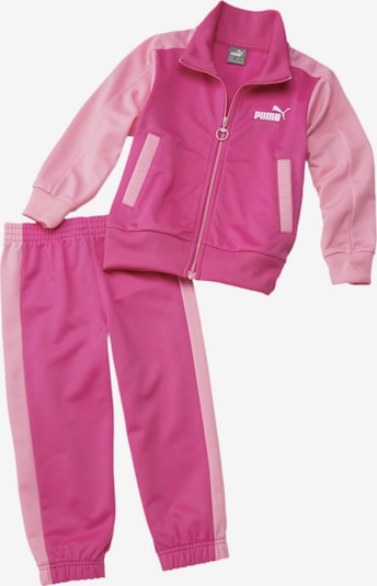 PUMA Trainingsanzug in pink, Produktansicht