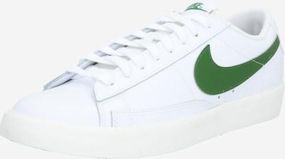 Nike Sportswear Sneakers low 'Blazer' in grass green / white, Item view