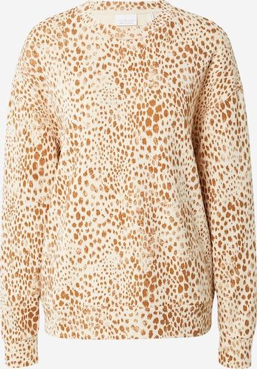 Rich & Royal Sweatshirt in camel / kitt, Produktansicht