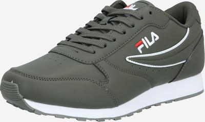 FILA Sneakers laag 'ROSSO Orbit' in de kleur Stone grey / Rood / Wit, Productweergave