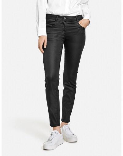 TAIFUN Jeans in schwarz, Modelansicht