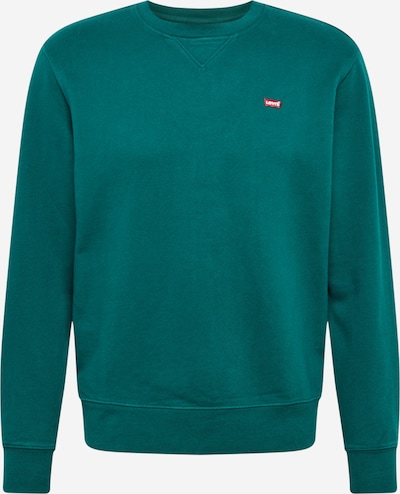 LEVI'S Sweatshirt in dark green / red / white, Item view