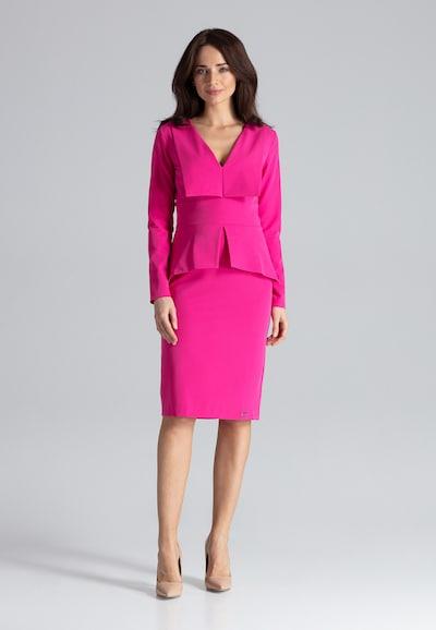 Lenitif Etuikleid in pink / fuchsia / magenta, Modelansicht