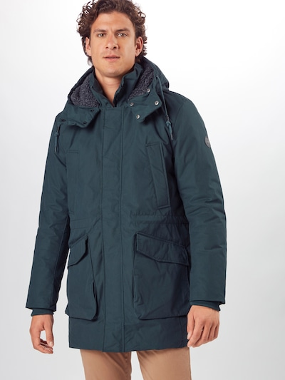 Ragwear Between-seasons coat 'Etore' in fir, View model