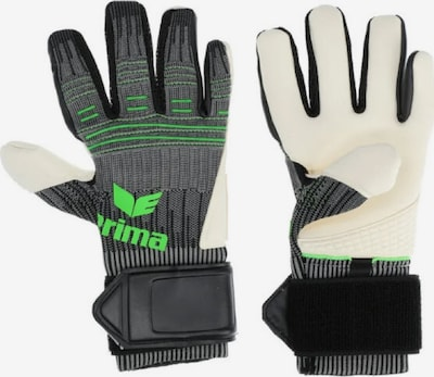 ERIMA Handschuh in grau / grün / schwarz / weiß, Produktansicht