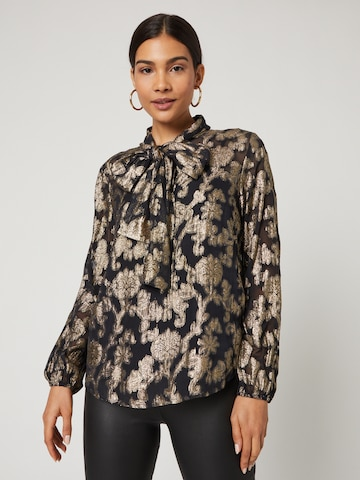 Guido Maria Kretschmer Collection Blouse 'Florentine' in Gold