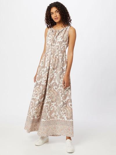 Bardot Jumpsuit in de kleur Beige / Rosa / Wit, Modelweergave