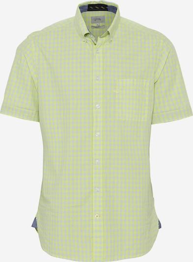 CAMEL ACTIVE Hemd in hellgelb / hellgrau, Produktansicht
