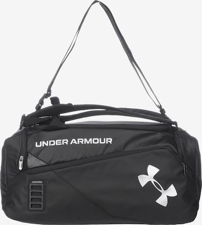 UNDER ARMOUR Sporttas 'Contain Duo' in de kleur Zwart / Wit, Productweergave