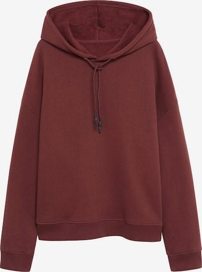 VIOLETA by Mango Sweatshirt 'Jordan' in rubinrot, Produktansicht