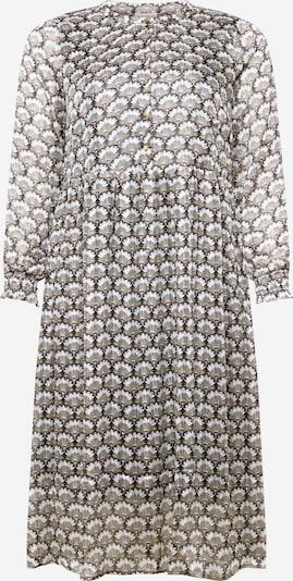 KAFFE CURVE Kleid in braun / grau / schwarz / weiß, Produktansicht