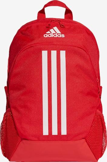 ADIDAS PERFORMANCE Sportrugzak 'Power 5' in de kleur Rood / Wit, Productweergave