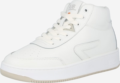 HUB Augstie brīvā laika apavi 'Baseline', krāsa - balts, Preces skats