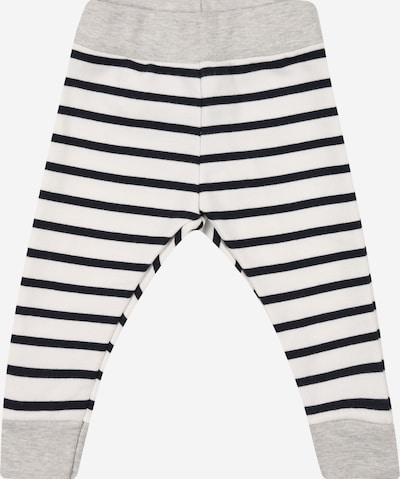 PETIT BATEAU Hose in grau / schwarz / weiß, Produktansicht