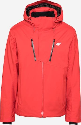 4F Veste outdoor en rouge, Vue avec produit