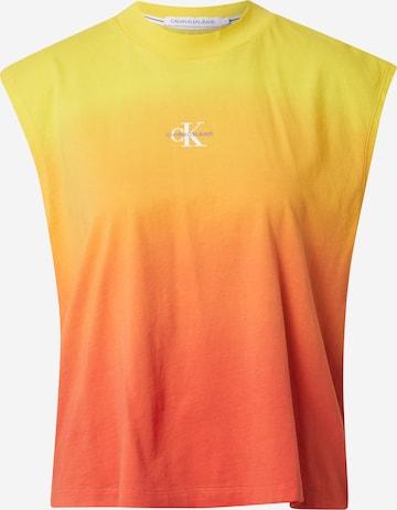 Calvin Klein Jeans Shirt in Oranje