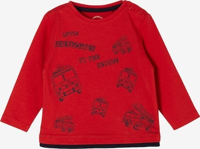 s.Oliver Shirt in navy / rot, Produktansicht