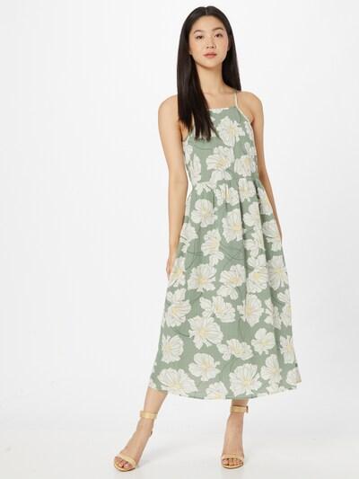 GAP Sommerkleid in hellgelb / pastellgrün / weiß, Modelansicht