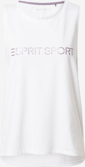 ESPRIT SPORT Sporta topiņš lillā / balts, Preces skats