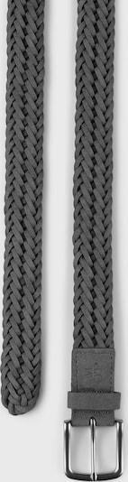 Marc O'Polo Flecht-Gürtel ' aus weichem Nubukleder ' in grau, Produktansicht