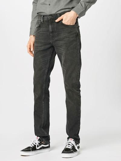 Nudie Jeans Co Jean 'Tight Terry' en noir denim, Vue avec modèle