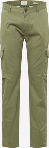 Pantalon cargo TOM TAILOR en vert