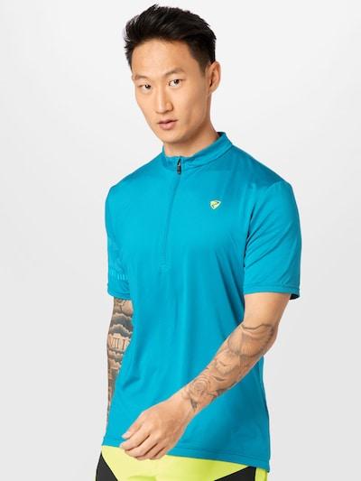ZIENER Functioneel shirt 'NOBUS' in de kleur Royal blue/koningsblauw: Vooraanzicht