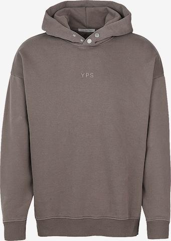 Young Poets Society Sweatshirt 'Joris' in Brown