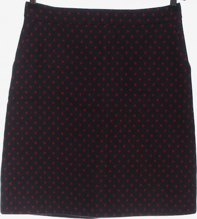 Boden Wollrock in S in rot / schwarz, Produktansicht