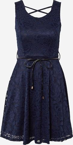 Robe de cocktail 'LIMMY' WAL G. en bleu