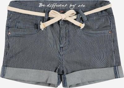 STACCATO Pantalón en azul denim / blanco, Vista del producto