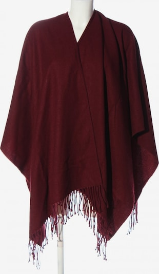 DARLING HARBOUR Poncho in XS-XL in rot, Produktansicht