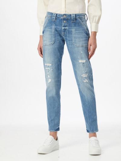 Le Temps Des Cerises Jeans 'CARA' in blue denim, Modelansicht