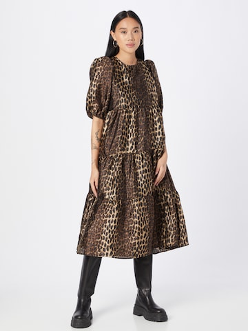 Crās Dress 'Lilicras' in Brown