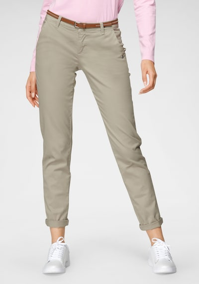 Tom Tailor Polo Team Chino Pants in Beige, View model