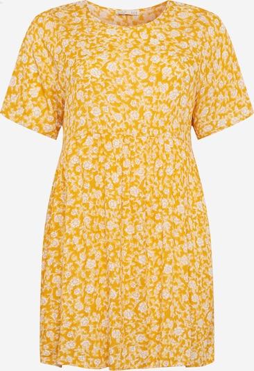 Cotton On Curve Kleid 'Good Times' in gelb / weiß, Produktansicht