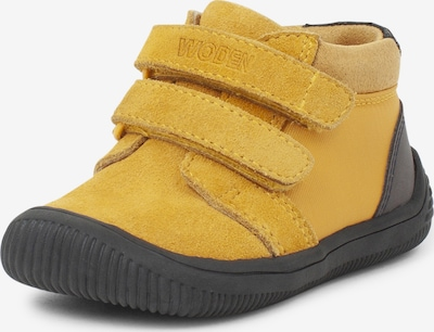 WODEN Kids Sneaker  'Tristan Reflex' in gelb, Produktansicht