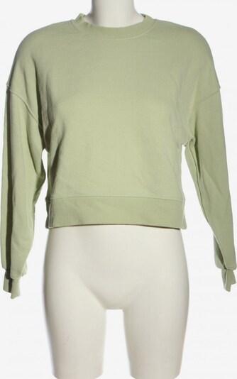 Pull&Bear Sweatshirt in XS in grün, Produktansicht