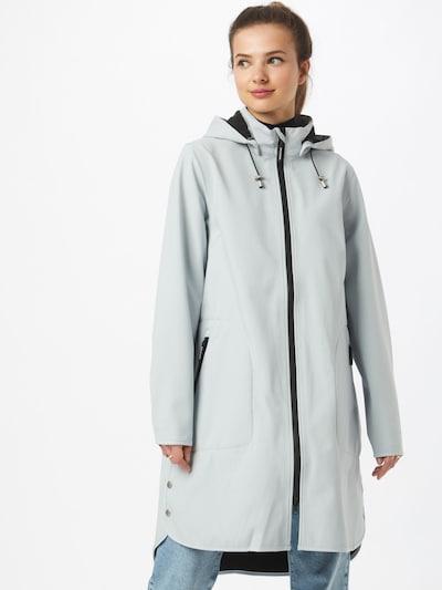 ILSE JACOBSEN Between-seasons coat in Azure, View model